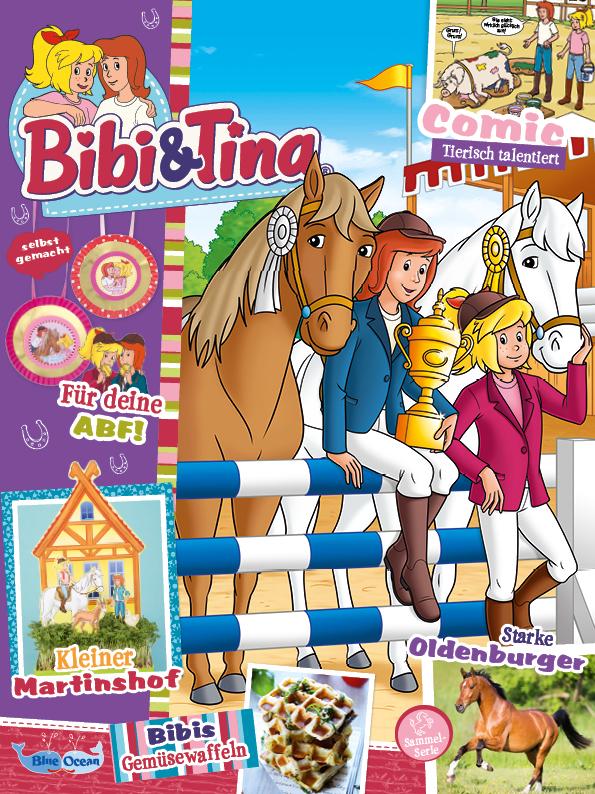 Sticker 5 Blue Ocean Bibi /& Tina