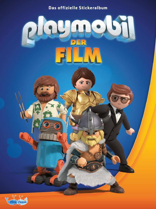 blue ocean entertainment: playmobil: der film sticker-serie
