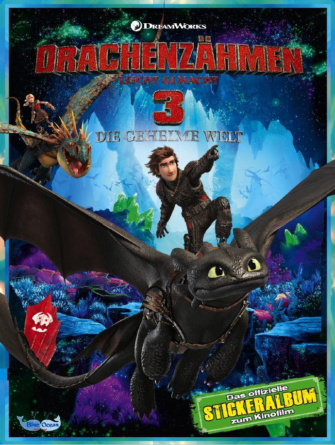 Blue Ocean Entertainment Dragons Movie Sticker Serie