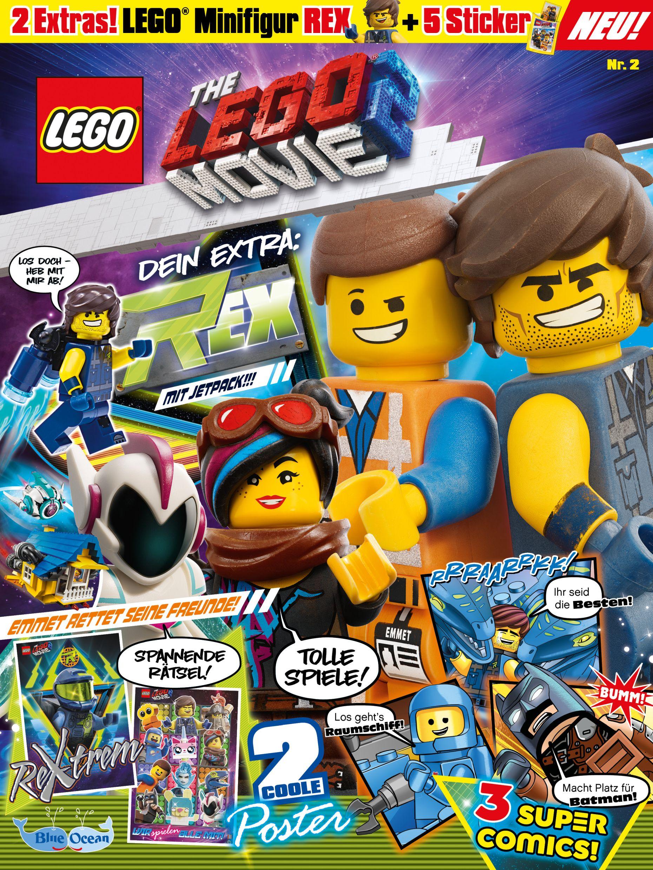 Sticker 63-The Lego Movie 2-Blue Ocean